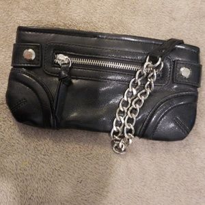 Small clutch with front pocket